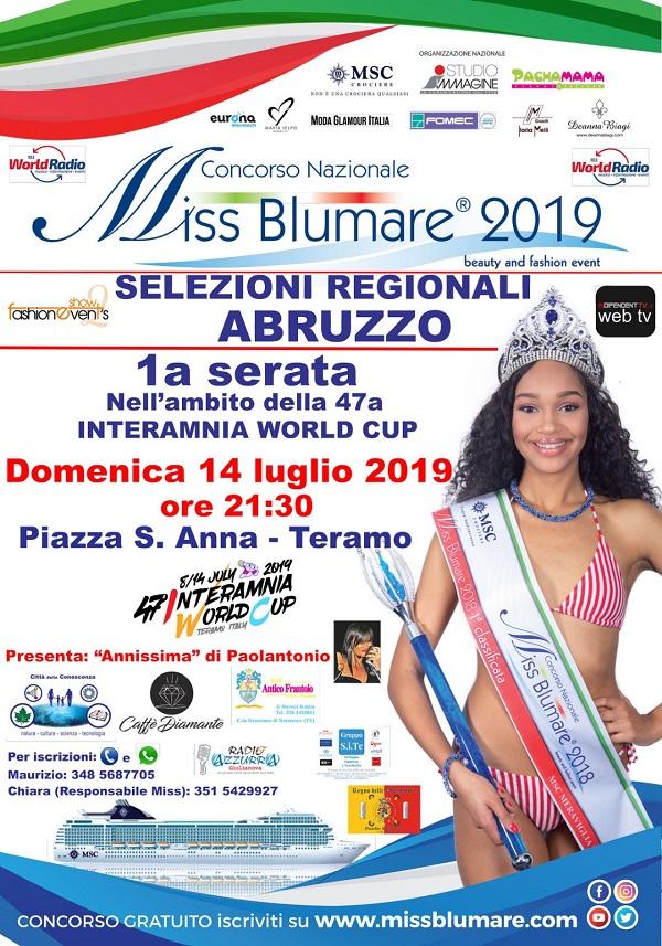 Gruppo S.i.Te sponsor e partner del Concorso Nazionale Miss Blumare Abruzzo